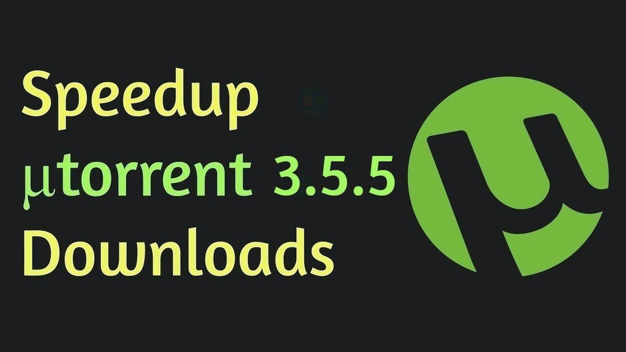 speed up utorrent 3.5.4