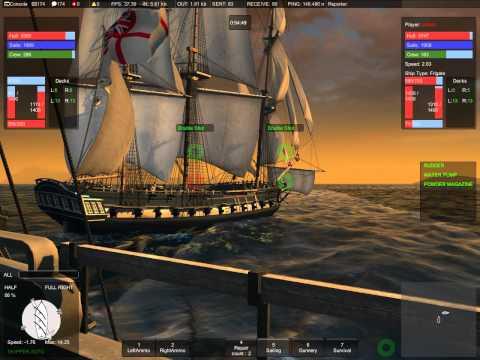 Naval Action: Frigate duel