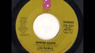 Lou Rawls - Spring Again