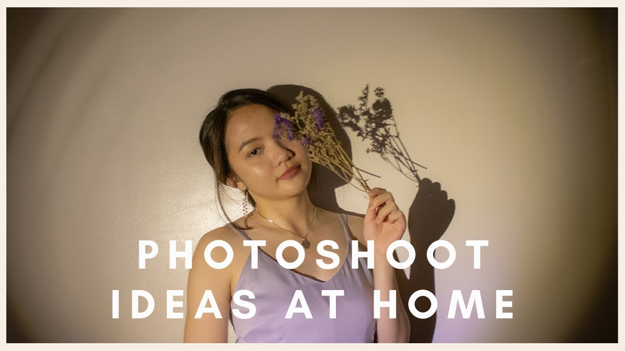 At Home Photoshoot Ideas And Tips Philippines L Self Timer Diy Instagram Tiktok Aesthetic Youtube
