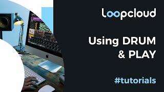Using DRUM PLAY - Loopcloud 6