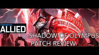 Smite [EnVy] Allied - Shadow of Olympus Patch Review