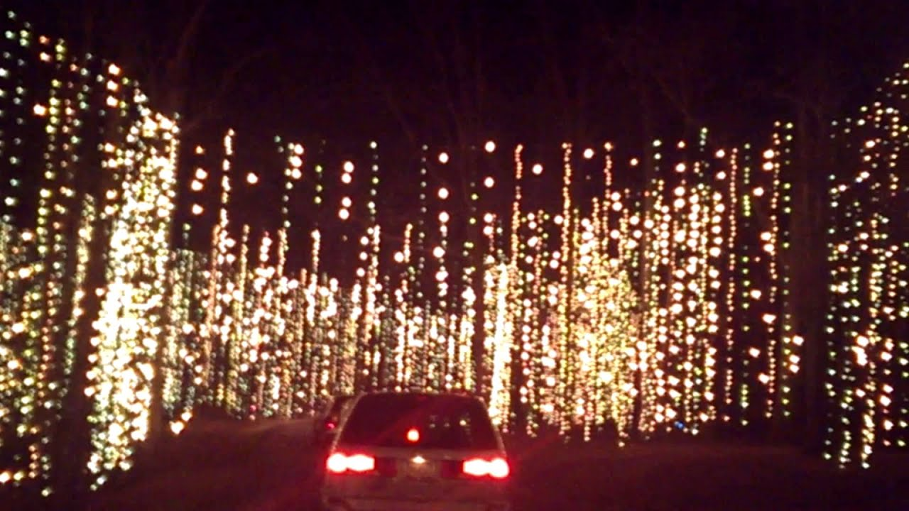 Christmas Lights At Callaway Gardens Youtube