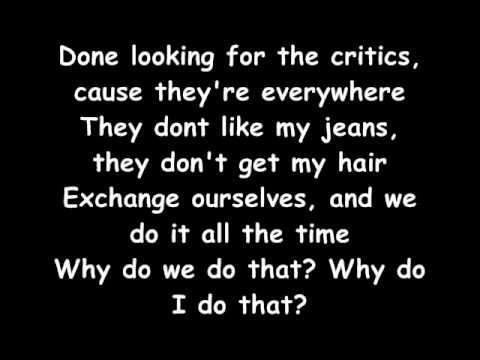 Pink- F*ckin Perfect lyrics
