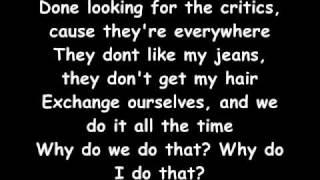 Pink- F*ckin Perfect lyrics