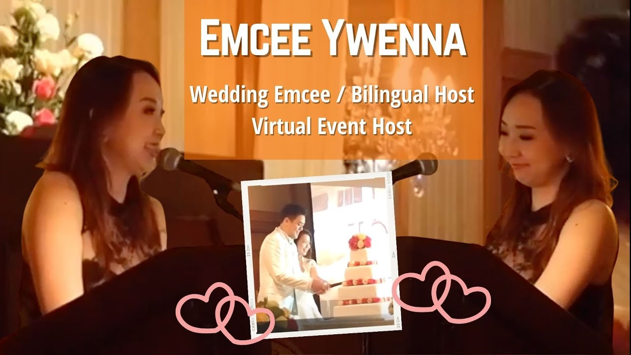 Merry Bees Live Music - Ywenna emceeing in English & Mandarin (Bilingual)