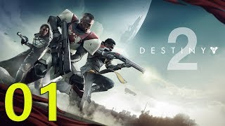 DESTINY 2 Walkthrough PC Gameplay Part 1 - It Begins (No Commentary)