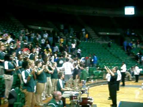 """UAB Blazer Band performs """"Fight Song"""""""