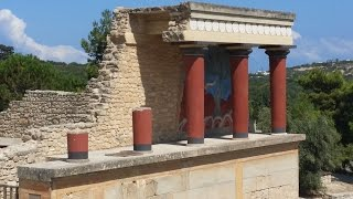 Knossos Palace in Crete - Minoan civilization