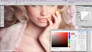 Kristina Vassilieva Photoshop Retouch - Pretty Pastels Thumbnail