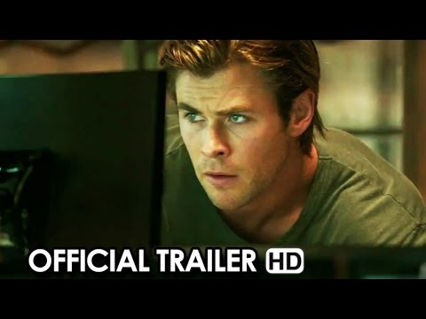 Blackhat Official Trailer #1 (2015) - Chris Hemsworth HD