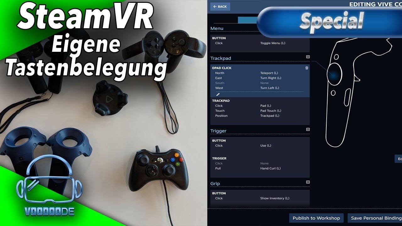 SteamVR Custom Keybinding - Eigene Tastenbelegung für alle Controller +  SkyLoft [Virtual Reality]