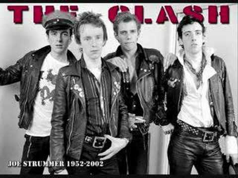 train in vain the clash