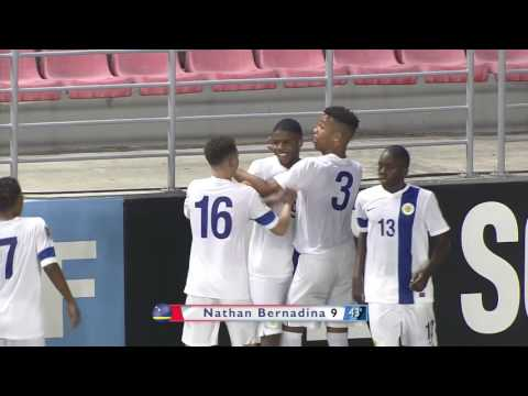 CU17 2017: Curaçao vs Haiti Highlights