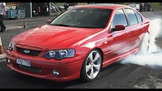Ford XR6 turbo ~ 10.43 / 137mph