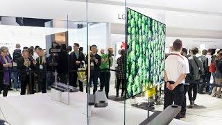 Tinhte.vn | TV mỏng như một tờ giấy, LG OLED Signature W | CES 2017