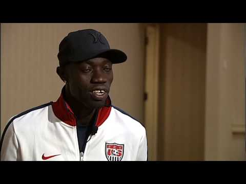 More video from KVAL News interview with Lopez Lomong