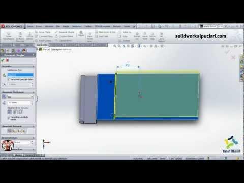 SolidWorks Sac Levha Uygulama-4