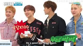 engsub when shinee taemin doesnt know how to speak korean weekly idol