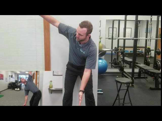 Exercise for Back Stiffness | Thoracic Rotation with Hip Hinge | Chesterfield Chiropractor