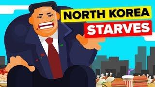 How Can Kim Jong-Un Feast While North Korea Starves?