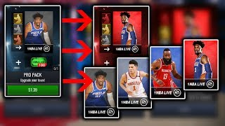 Nba Live Mobile 19 Special Pack Scale Up Opening - Are These Worth it?