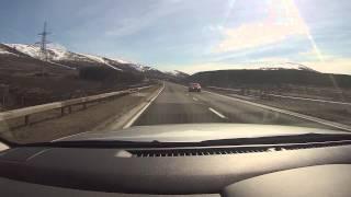 A9, Cairngorms, Aviemore, and Tesco. ScotVlog 21