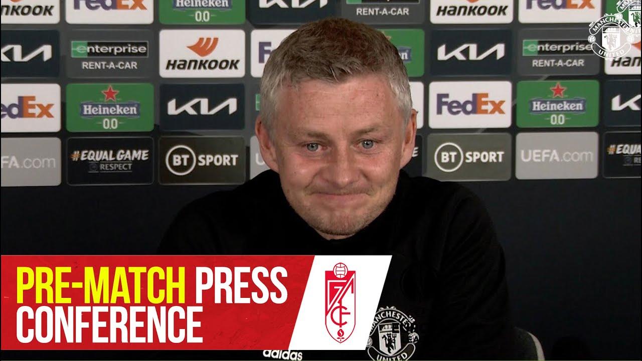 Pre-Match Press Conference   Manchester United v Granada CF   Ole Gunnar Solskjaer   Europa League