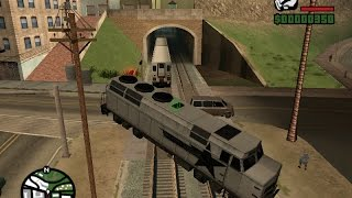 Como detener el tren en Gta San Andreas