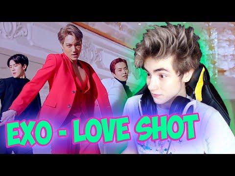 "EXO 엑소 ""Love Shot"" MV Реакция   Экзо Лав шот   Реакция на EXO Love Shot   K-pop группа EXO"