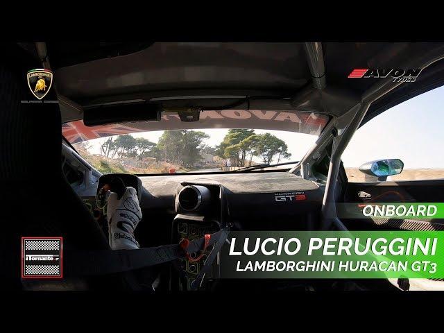 ON BOARD    LUCIO PERUGGINI - LAMBORGHINI HURACAN GT3    61^ MONTE ERICE 2019