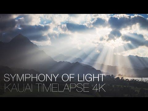 Symphony of Light - Kauai Timelapse 4K