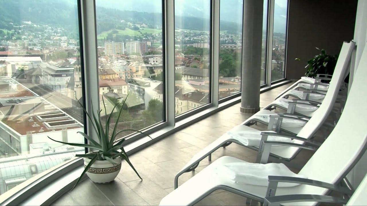 Adlers hotel innsbruck youtube for Innsbruck design hotel