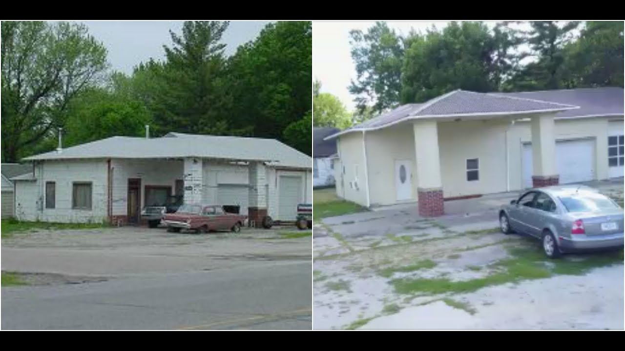 Old gas station turned into house youtube for Classic house radio station