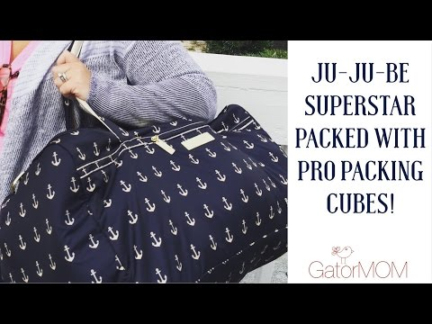 Ju-Ju-Be | Weekend Trip! SUPERSTAR packed with PRO PACKING CUBES!