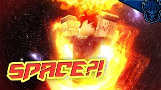 How To Go To Space | Dragon Ball Z Final Stand Space Update | Roblox | iBeMaine