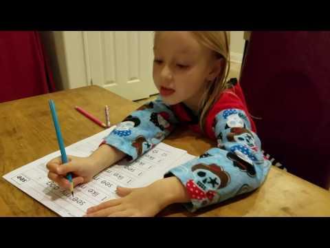 Reading Kindergarten Homework