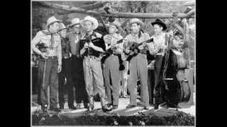 Early Sons Of The Pioneers - Blue Juniata (1937).