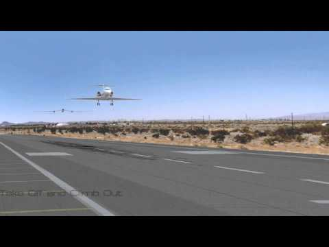 Towed Twin-Fuselage Glider Launch System (CGI Animation Version 2)