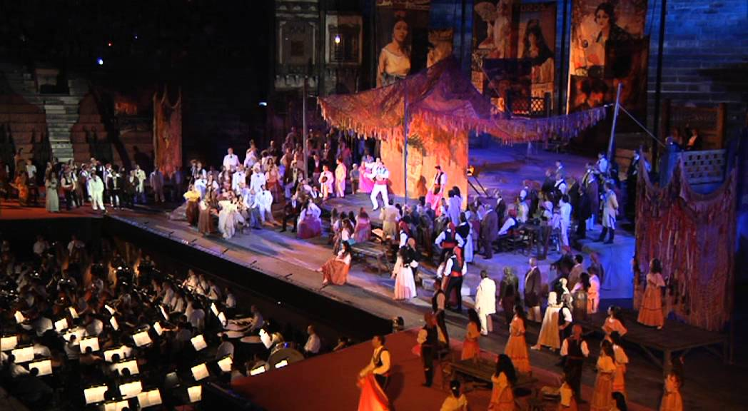 Carmen by Georges Bizet - Arena di Verona 2012 - YouTube