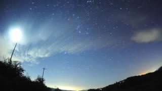 オリオン座流星群 2016年10月23日 南東の空