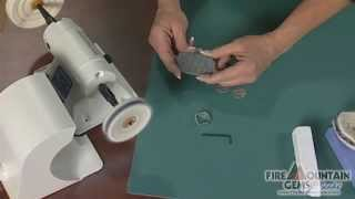 How To Set Up And Polish With The Polisher Bench Lathe