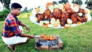 തനതര ചകകൻ വടടൽ തനന ഉണടകക!!! How To Make Tandoori Chicken Easily At Home