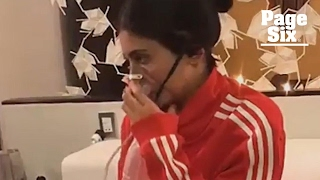Kylie Jenner had to wear an oxygen mask in Peru   Page Six