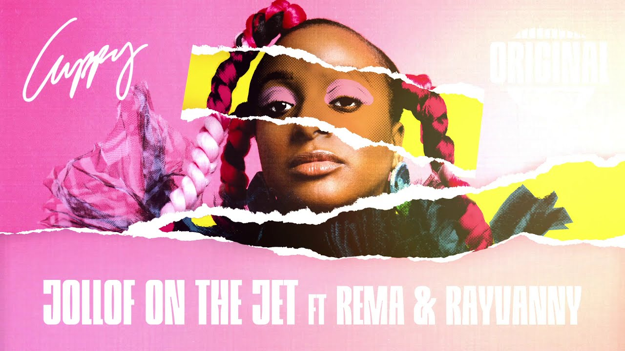 Cuppy - Jollof On The Jet Ft.  Rema & Rayvanny (Official Audio)