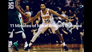 11 Minutes of Mikal Bridges Playing Defense