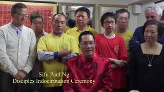 20150501, Paul Ng, Disciple Indoctrination Ceremony, 伍子明師傅收徒儀式