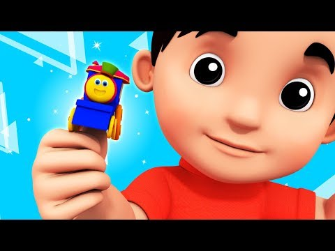 Where Is Thumbkin | Learning Street With Bob The Train | Kids Shows And Cartoon Videos by Kids Tv