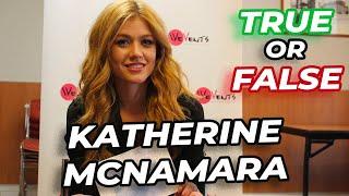 true or false katherine mcnamara