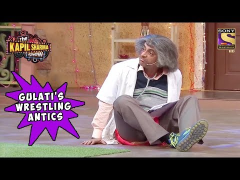 Gulati's Wrestling Antics To Impress Salman Khan - The Kapil Sharma Show